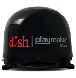 DISH Playmaker Dual - Outdoor TV - Shawnee, Oklahoma - Quality Communications - DISH Authorized Retailer
